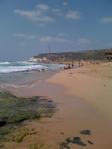 Israel: Monkey Beach at the Lebanese border