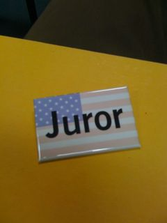 Jury Duty: Juror Janeen thinks men make better jurors than women.